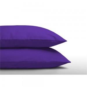 Katoenen Kussenslopen (2 in 1) Purple