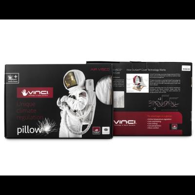 Vinci Down Deluxe Contour Pillow White #5