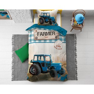 Tractor Life Blue