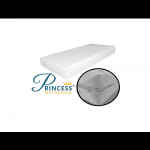 Princessmatrassen Ledikantmatras - 60x120x10 cm - SG25 -Anti-allergische wasbare hoes met rits