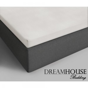 Dreamhouse Bedding Katoenen Topper Hoeslaken - Creme