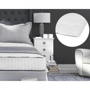 Luxury Hotel Mattress Topper White