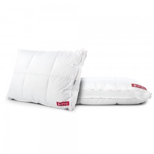 Vinci Down Deluxe Classic White Pillow